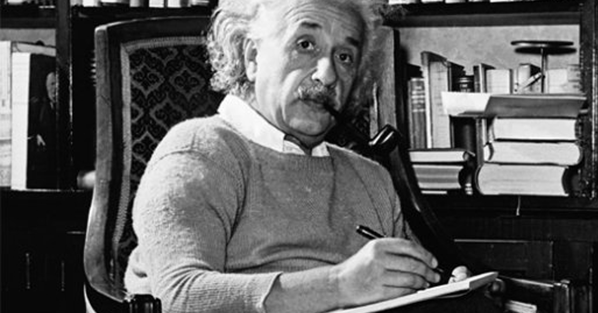 Cumhurbaşkanı Albert Einstein