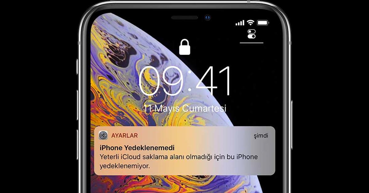iPhone Yedeklenemedi Hatası