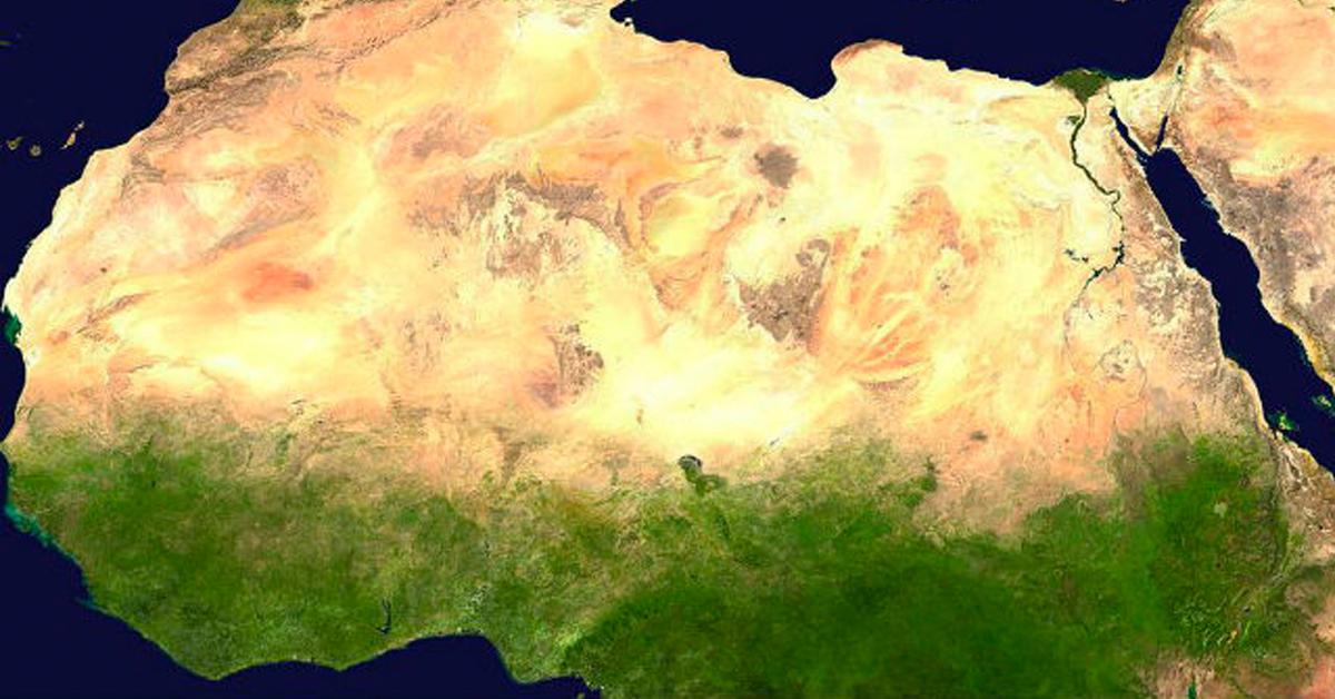 Yeşil Sahra Çölü